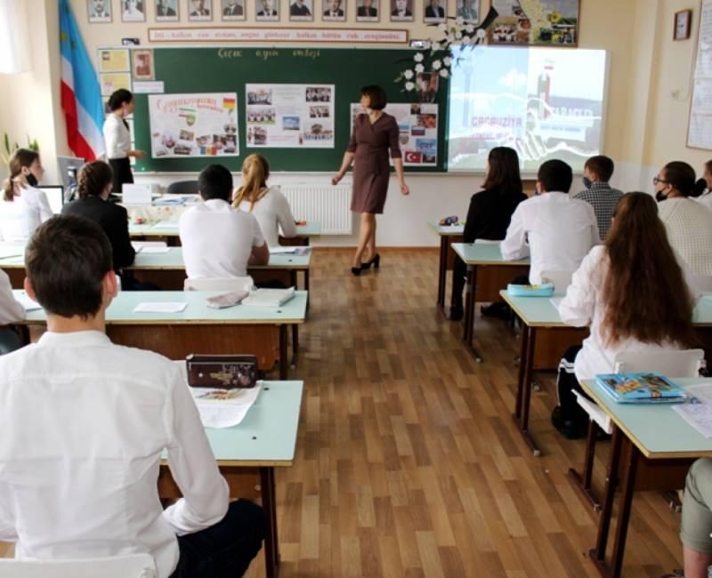 Açık ders Baurçu gimnaziyasında:
