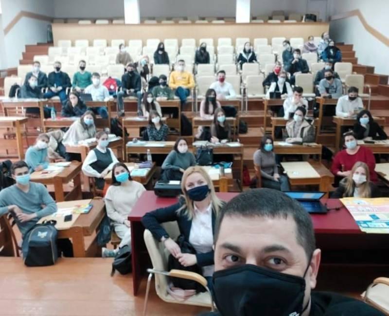 Встречи представителей Технического университета Молдовы с учащимися 12-х классов учебных заведений Гагаузии