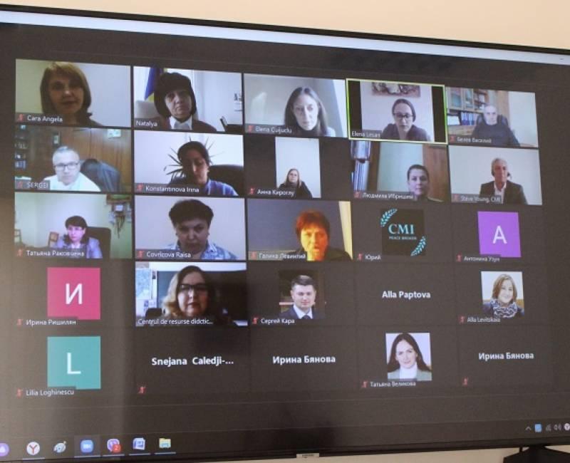 Онлайн - дискуссия: проблемы и перспективы развития профессионально-технического и высшего образования в Гагаузии