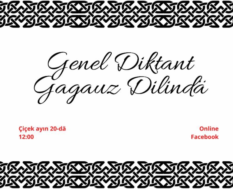 Онлайн - диктант по гагаузскому языку: подробности проведения акции